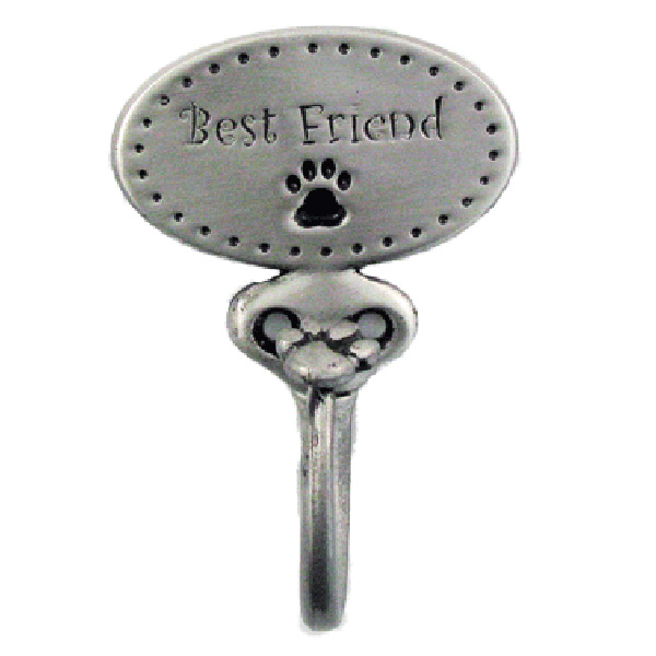Decorative Leash Hook - Best Friend