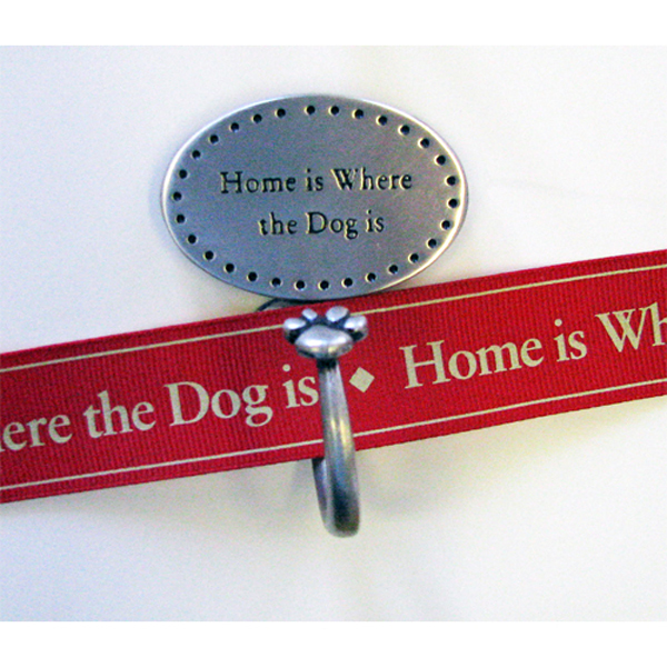 Decorative Leash Hook - Home is Where the Dog Is