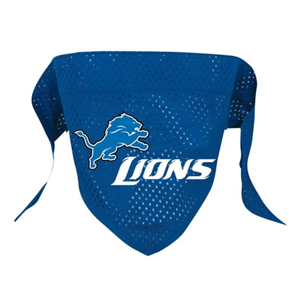 Detroit Lions Mesh Dog Bandana