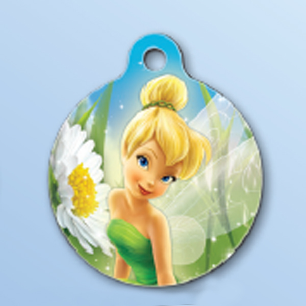 Disney Tinker Bell QR Code Pet ID Tag