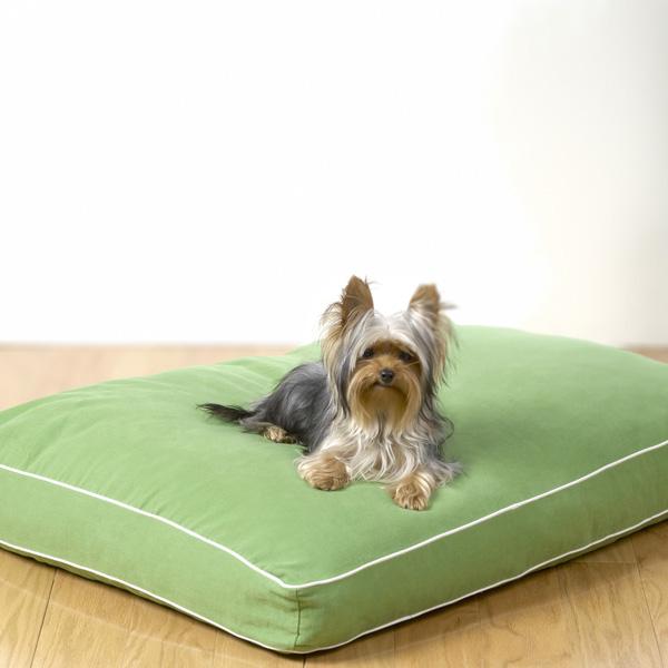 Dog Gone Smart Green Line Biodegradable Dog Bed Green