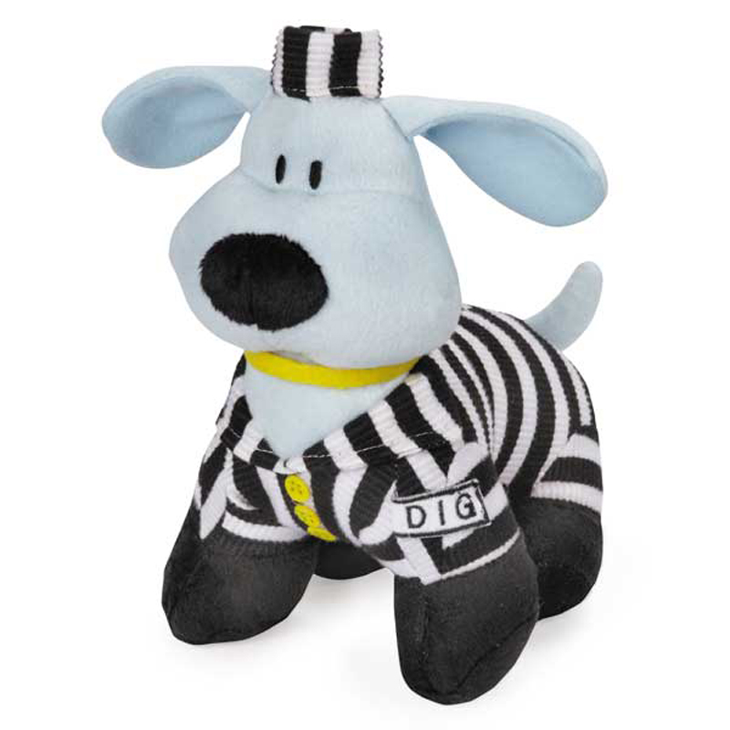 Dog Is Good Halloween Bolo Dog Toy - Prisoner