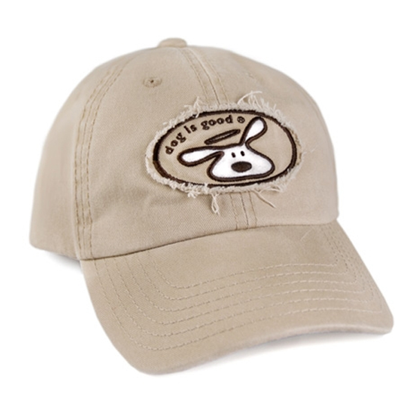 Dog is Good Human Cap - Khaki