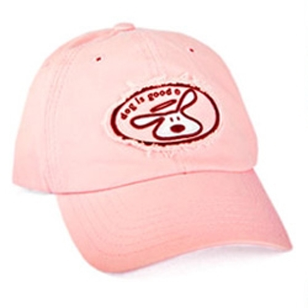 Dog is Good Human Cap - Pink