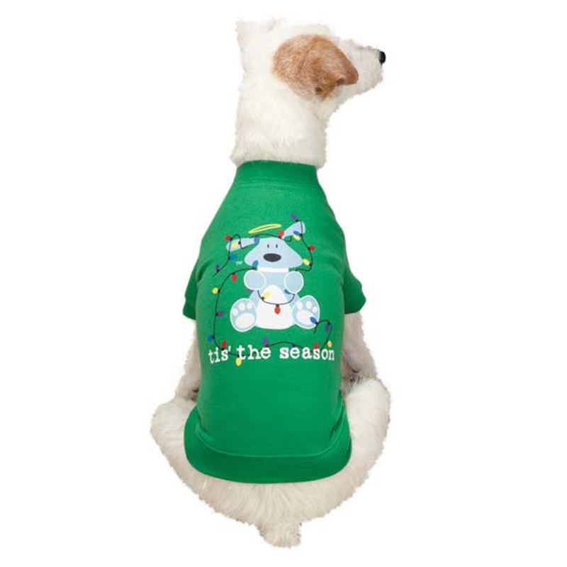 Dog Is Good Lights Dog T-Shirt - Green