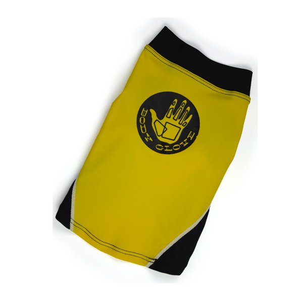 Dog Rashguards By Body Glove- Yellow/Black