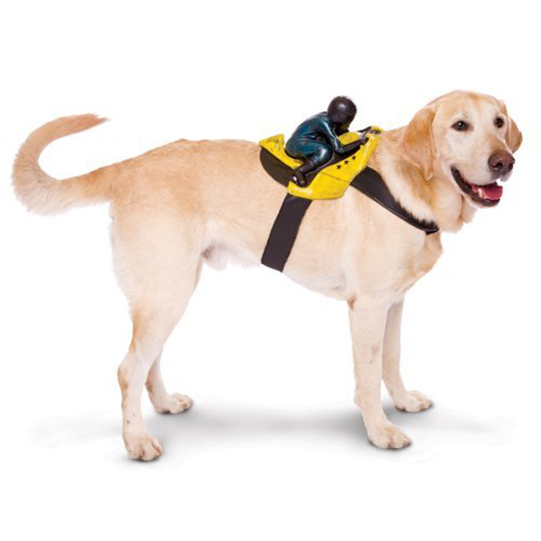 Dog Riders Harness Halloween Costume - Biker
