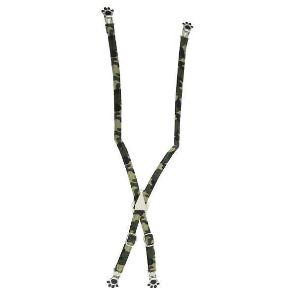 Dog Suspenders - Camo