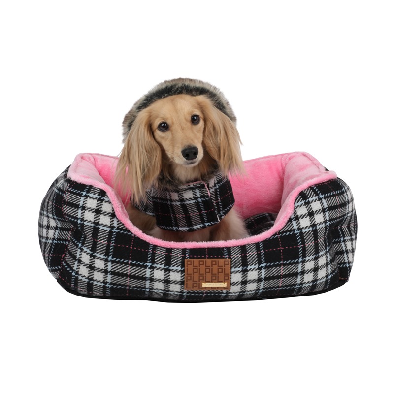 Dogberry Dog Bed by Puppia - Black