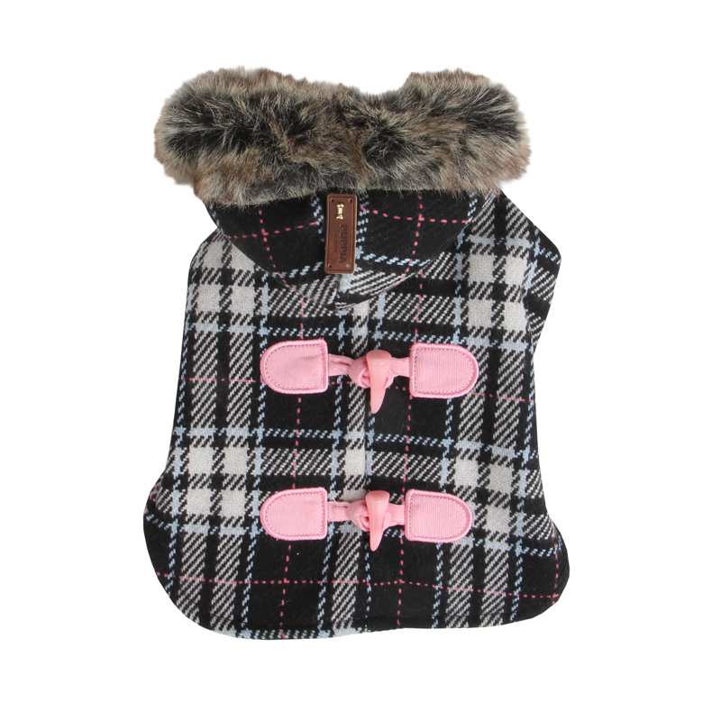 Dogberry Dog Coat by Puppia - Black