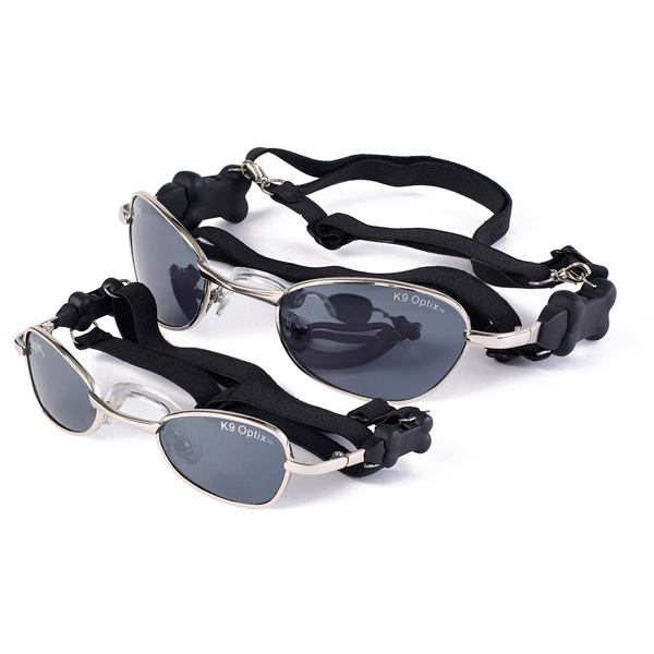 doggles k9 optix sunglasses for dogs silver w smoke