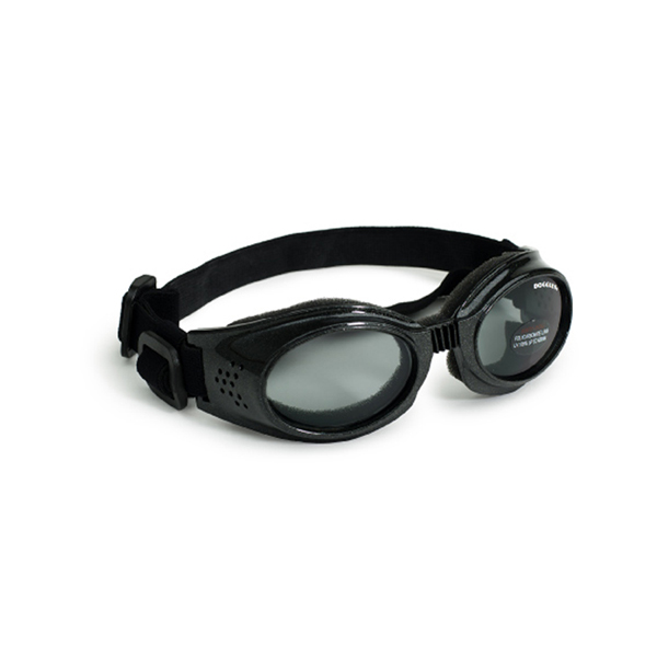Doggles - Originalz Black Frame with Smoke Lens