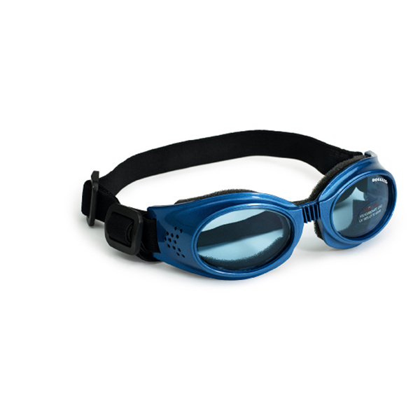 Doggles - Originalz Metallic Blue Frame with Blue Lens