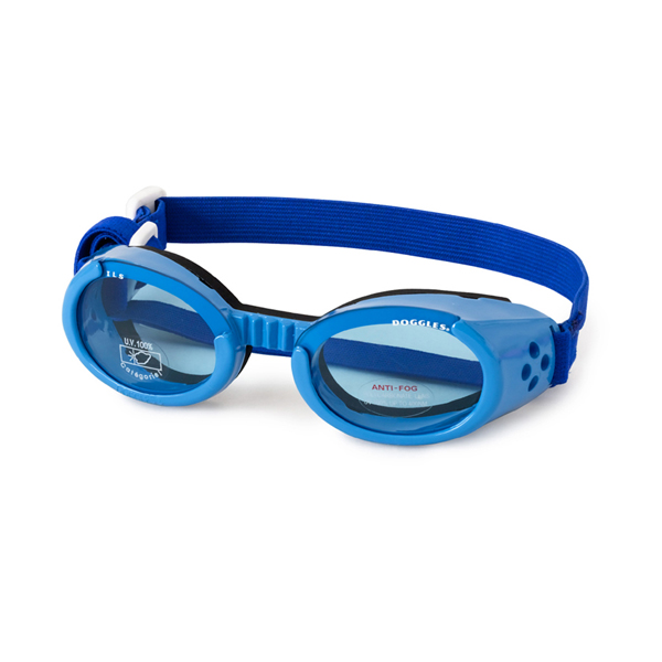 Doggles - Shiny Blue Frame with Blue Lens