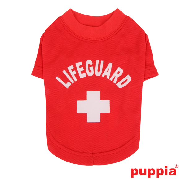 Dogwatch Dog Shirt by Puppia - Red