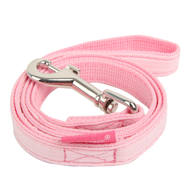 Downy Dog Leash by Pinkaholic - Pink