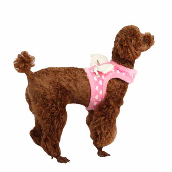 Dreamy Pinka Dog Harness by Pinkaholic - Pink