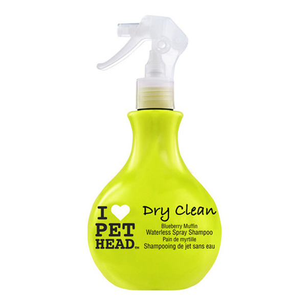 Dry Clean Blueberry Muffin Waterless Spray Dog Shampoo By Pet Head