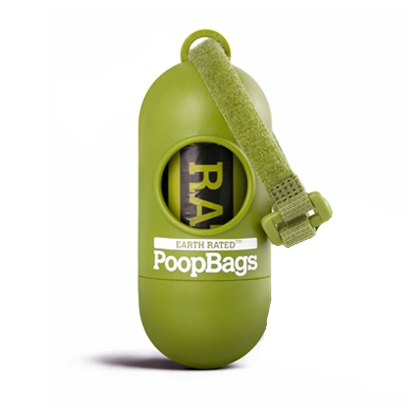 Earth Rated Poop Bags and Dispenser