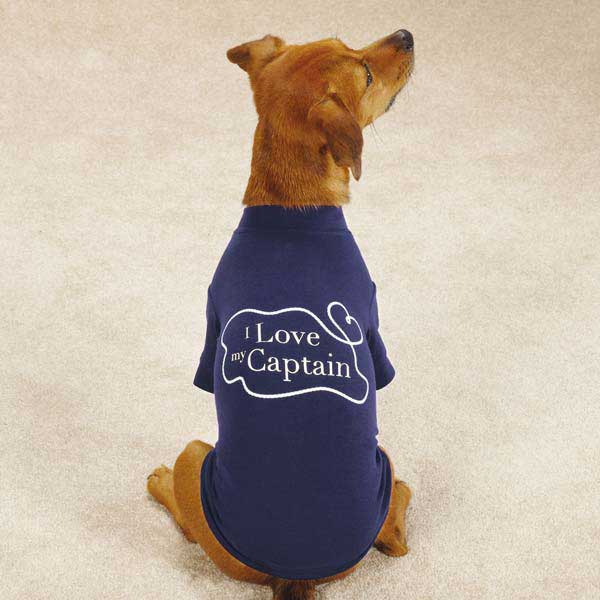All Paws on Deck Dog T-Shirt - Captain