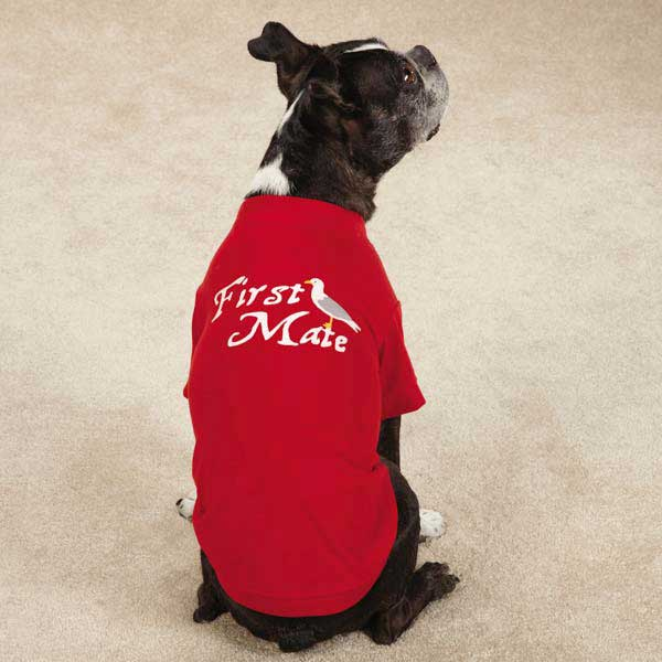 All Paws on Deck Dog T-Shirt - First Mate