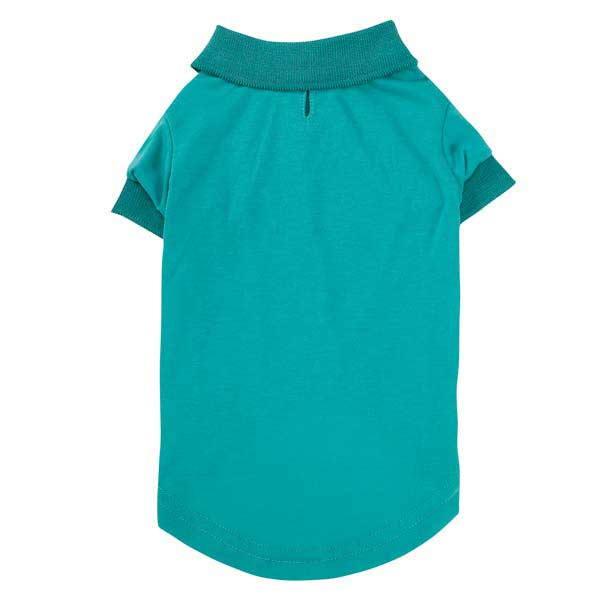 Blooming Brights Dog Polo - Turquoise