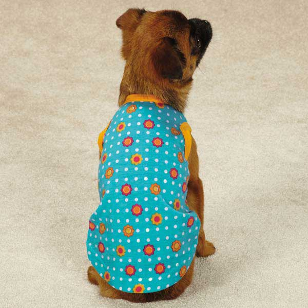 Blooming Brights Dog Tank