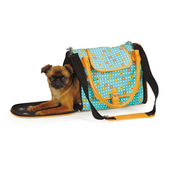 Blooming Brights Pet Carrier