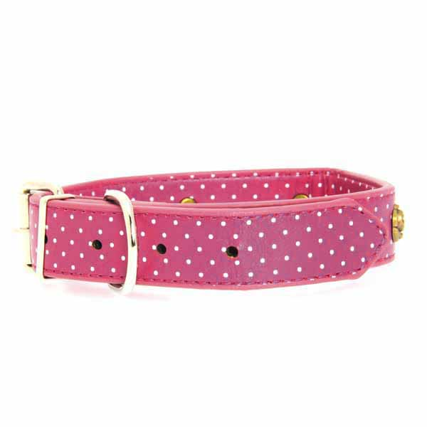 Canine Charmers Dog Collar - Rose