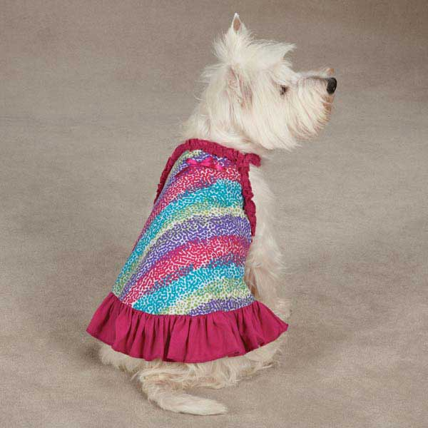 East Side Collection Confetti Dog Dress