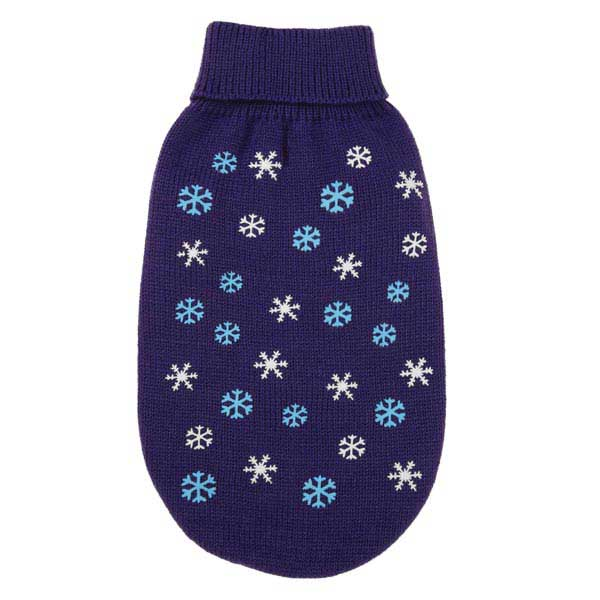 Flurry Dog Sweater - Purple