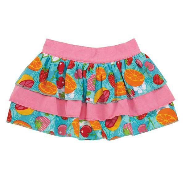 Fruit Frenzy Ruffle Dog Skirt