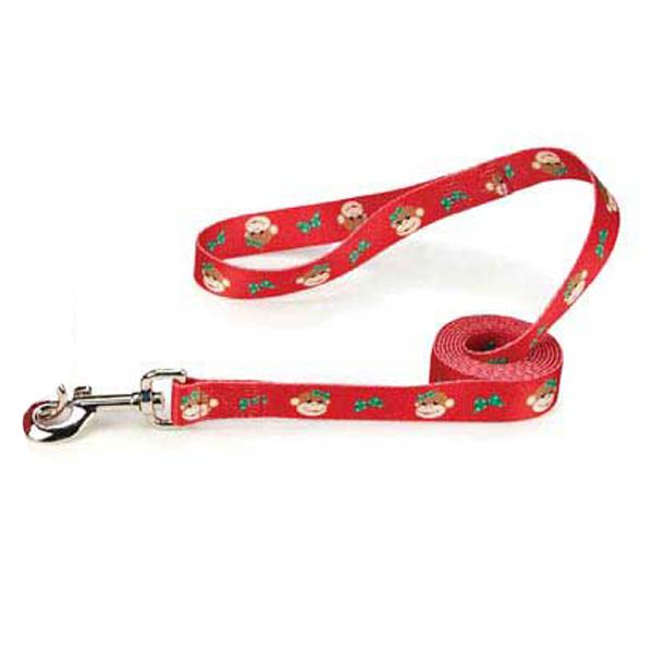 Holiday Monkey Business Dog Leash - Tiff