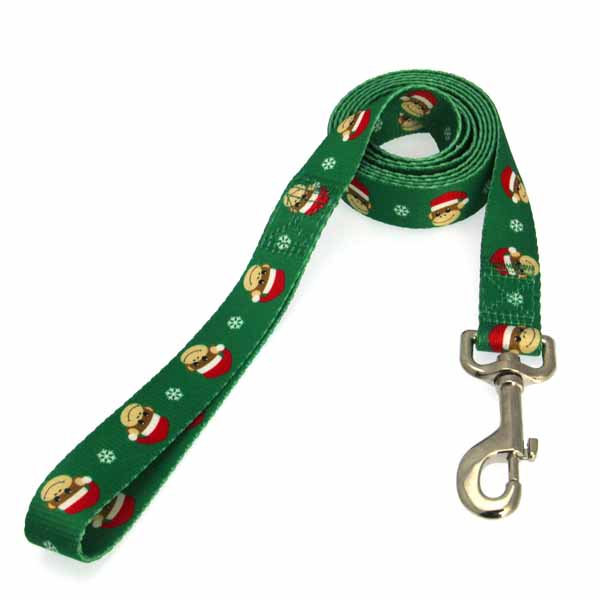 Holiday Monkey Business Dog Leash - Ty