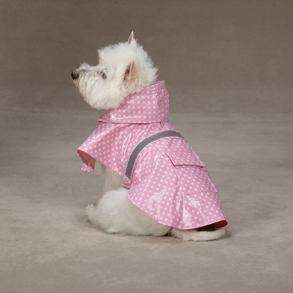 Polka Dot Rain Jacket - Pink