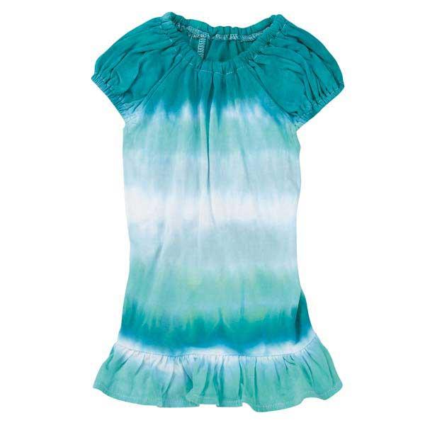 Tie Dye Cover-up Dog Dress - Bluebird