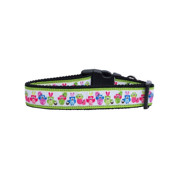 Easter Birdies Dog Collar