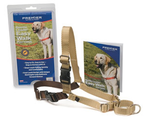Easy Walk Nylon Harness by Premier - Fawn / Tan