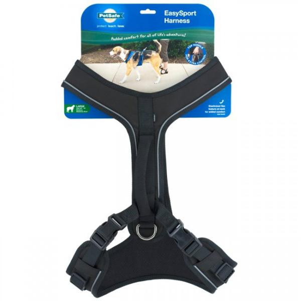 EasySport Dog Harness by PetSafe - Black