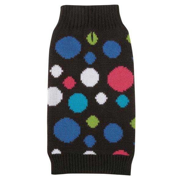Electric Knit Dog Sweater - Polka Dots