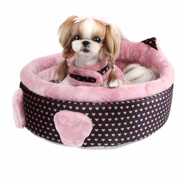 Elfish Dog Bed by Pinkaholic - Pink