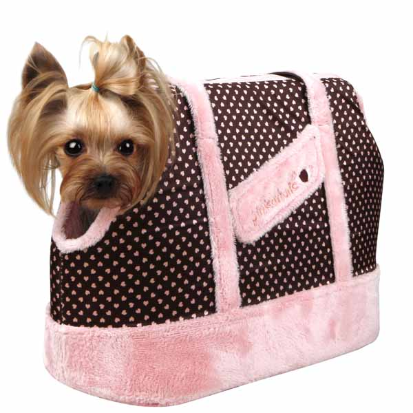 Essence Dog Carrier by Pinkaholic - Pink