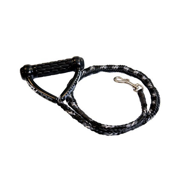 EzyDog Cujo Shock Absorbing Dog Leash - Black