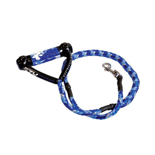 EzyDog Cujo Shock Absorbing Dog Leash - Blue Camo