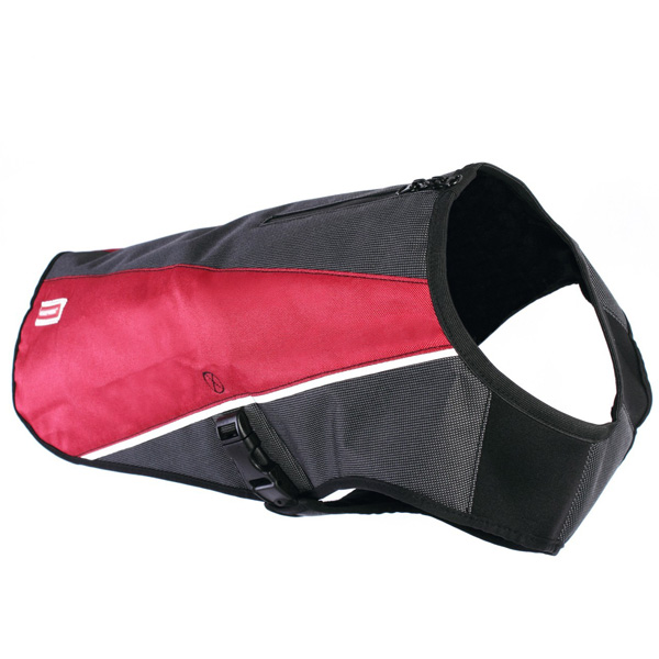 EzyDog Element Dog Coat - Scarlett Red