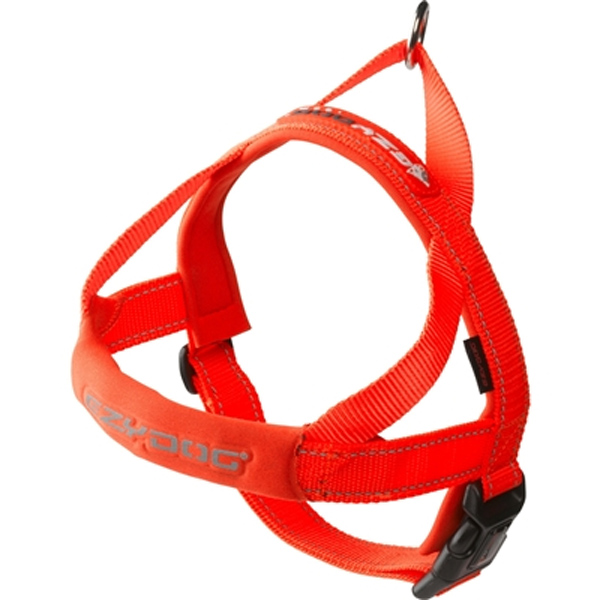 EzyDog Quick Fit Dog Harness - Red