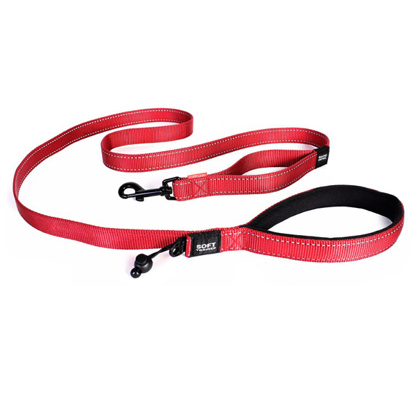 EzyDog Soft Trainer Dog Leash - Red