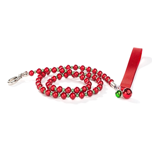 FabuLeash LumiBead Dog Leash - Holiday