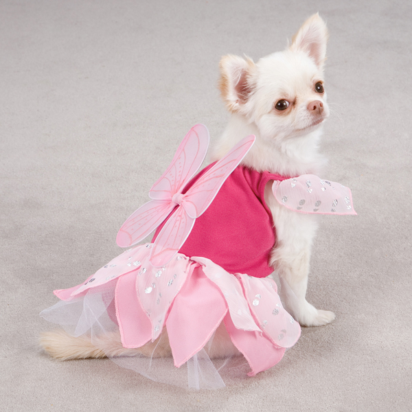 Fairy Tails Dog Costume by Zack & Zoey - Pink