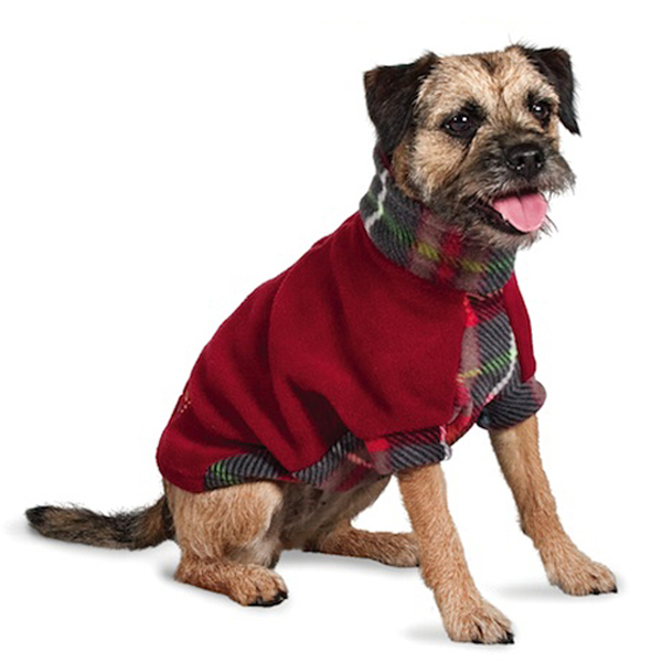 Fido Fleece MacDawg Plaid Dog Coat